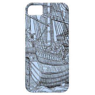 Velero de Galleon Funda Para iPhone SE/5/5s