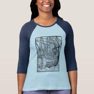 Velero de Galleon Camisetas