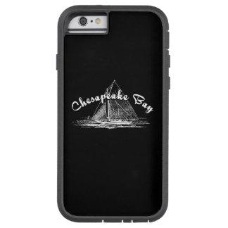 Velero de la bahía de Chesapeake Funda De iPhone 6 Tough Xtreme