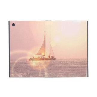 Velero de la puesta del sol iPad mini cobertura