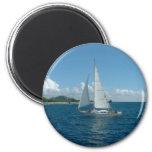 ¡Velero del Caribe, estaría navegando bastante! Imán De Frigorifico