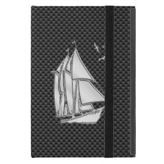 Velero del estilo del Regatta en la decoración de iPad Mini Cobertura