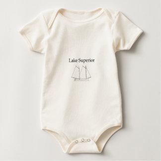 Velero del lago Superior Mamelucos De Bebé