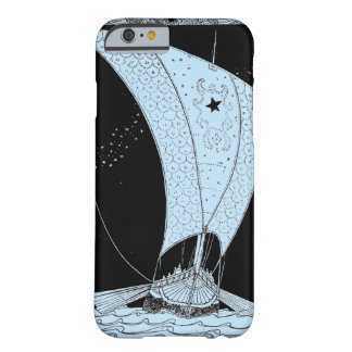 Velero del longship de Viking Funda Para iPhone 6 Barely There