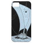 Velero del longship de Viking iPhone 5 Fundas