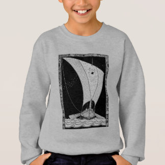 Velero del longship de Viking Polera
