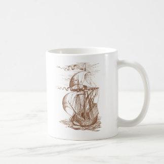 Velero del vintage taza clásica