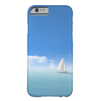 velero en el horizonte funda de iPhone 6 barely there