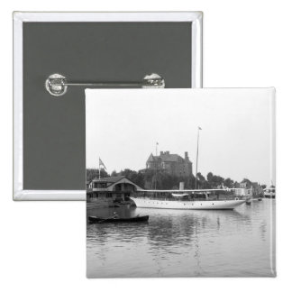 Velero en el St. el río Lawrence, 1890 Pins