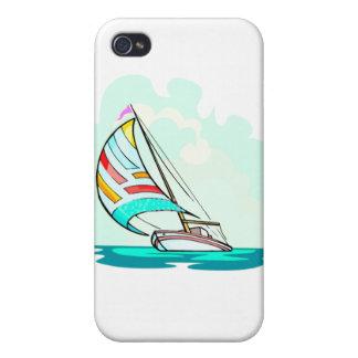 Velero en el viento iPhone 4 coberturas