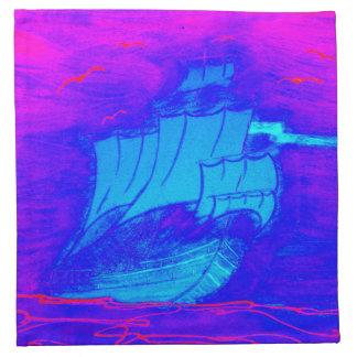 velero fluorescente 1 servilletas imprimidas