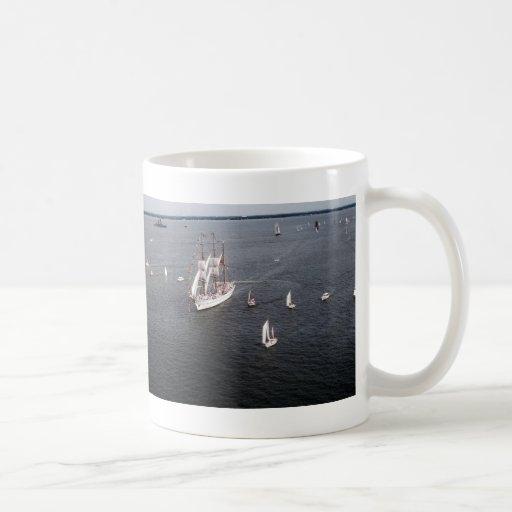 Velero grande tazas de café