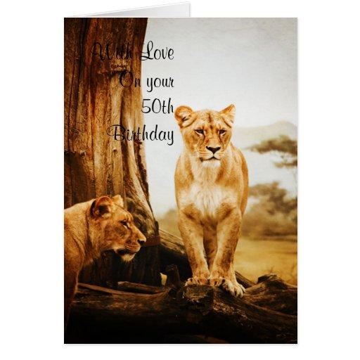 Velero y leones felicitaciones