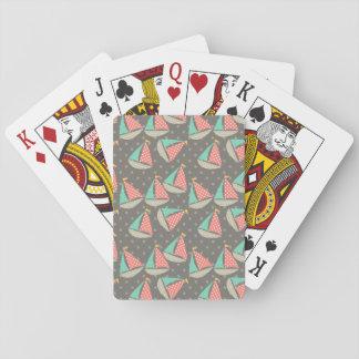 Veleros caprichosos barajas de cartas