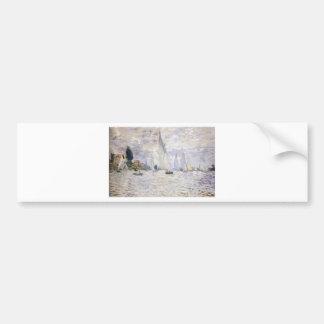 Veleros - Claude Monet Pegatina Para Auto