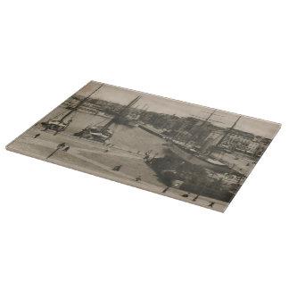 Veleros de Le Havre - de Quai Lamblardie en muelle Tablas Para Cortar