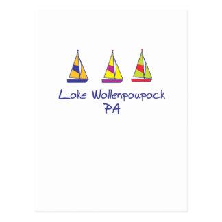 Veleros de Wallenpaupack del lago Postales