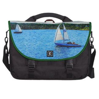 Veleros en el verano bolsas de portátil