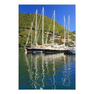 Veleros en Tortola, BVI Fotografía