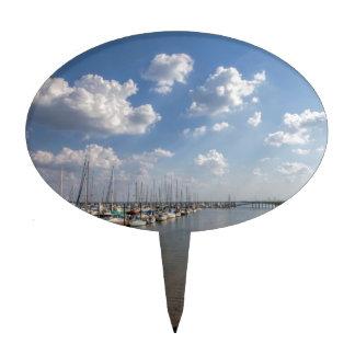Veleros Georgia los E.E.U.U. del puerto deportivo Palillos De Tarta