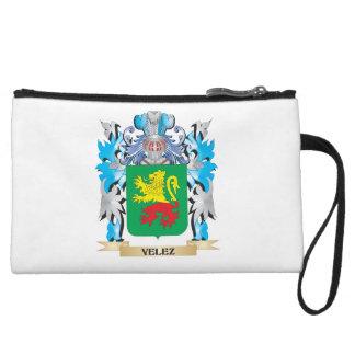 Velez Coat of Arms - Family Crest Wristlet Purse