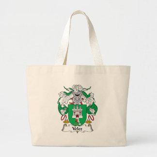 Velez Family Crest Bags