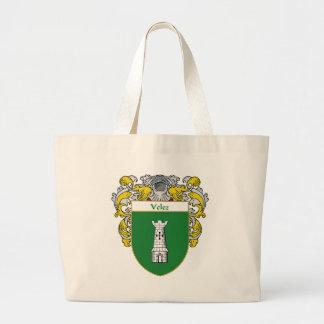"""Velez """"Velez Coat of Arms"""" """"Velez Family Crest"""" """"P Tote Bags"""