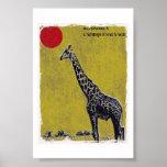 Velha Girafa Póster
