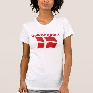 Velkommen - (recepción) camisas