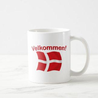 Velkommen - (recepción) taza clásica
