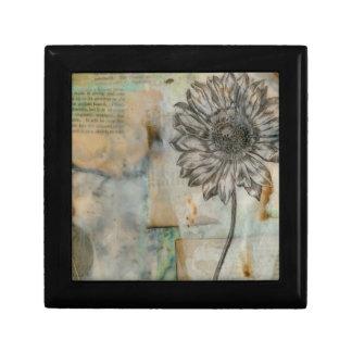 Vellum Floral I Jewelry Box