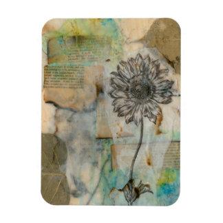 Vellum Floral I Magnet