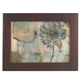 Vellum Floral I Memory Box