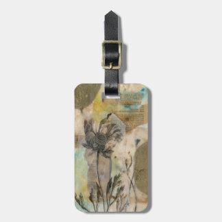 Vellum Floral II Bag Tags