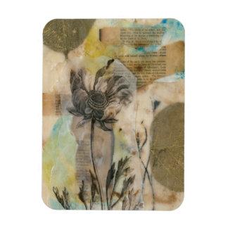 Vellum Floral II Magnet