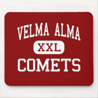 Velma Alma - Comets - Middle - Velma Oklahoma Mouse Pad