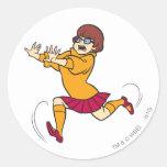Velma Pose 13 Round Sticker