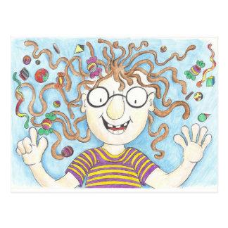 Velma's lollies postcard