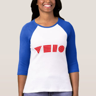 Velo Blocks in Red T-Shirt