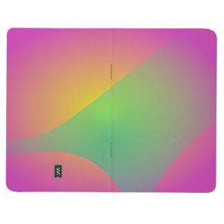 Velo en colores pastel cuadernos grapados