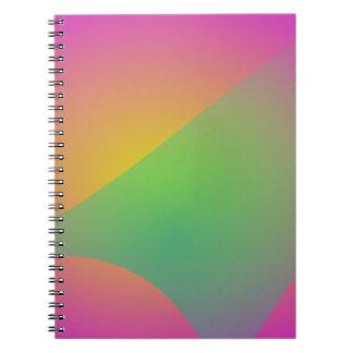 Velo en colores pastel de VeilPastel Libretas Espirales