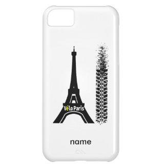 Velo Paris Bike Eiffel Tower iPhone 5C Case