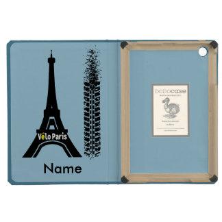 Velo Paris Bike Eiffel Tower iPad Mini Case