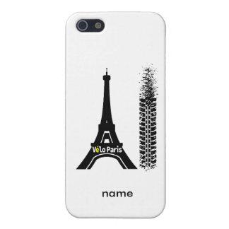 Velo Paris Bike Eiffel Tower Cover For iPhone SE/5/5s