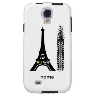 Velo Paris Bike Eiffel Tower Galaxy S4 Case