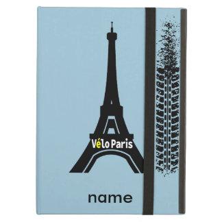 Velo Paris Bike Eiffel Tower iPad Air Cover