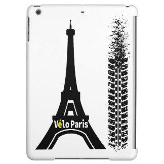 Velo Paris Bike Eiffel Tower Cover For iPad Air
