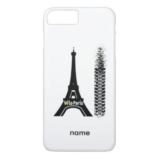 Velo Paris Bike Eiffel Tower iPhone 8 Plus/7 Plus Case