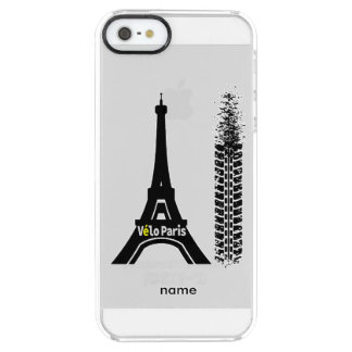 Velo Paris Bike Eiffel Tower Uncommon Clearly™ Deflector iPhone 5 Case