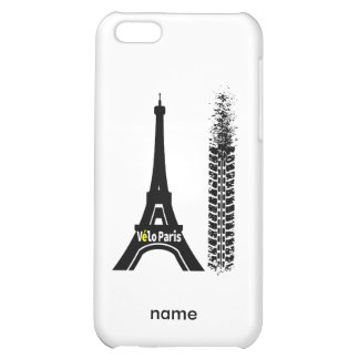 Velo Paris Bike Eiffel Tower Cover For iPhone 5C